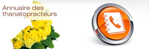 Annuaire des thanatopracteurs
