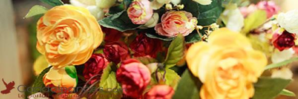 Fleurs deuil : choisir des fleurs artificielles pour des obsèqes.