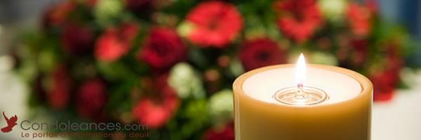 Organiser une réception après des funérailles.