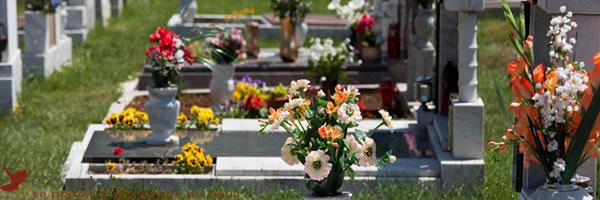 Articles funéraires pour un décès en entreprise.