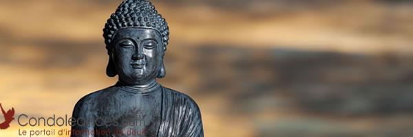 Enterrement bouddhiste : une approche par l'esprit.