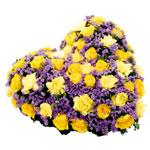 Choisir des fleurs artificielles pour des obs ques condol - Coeur fleurs artificielles ...